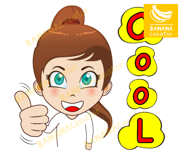 ผลงานออกแบบสติ๊กเกอร์ไลน์ bananacreator.com